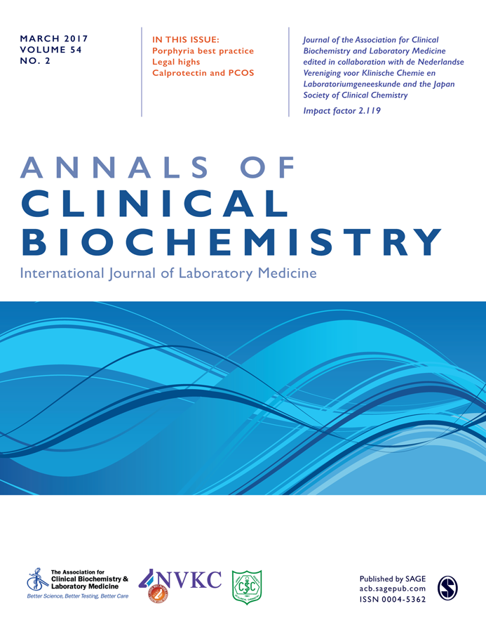 Annals of Clinical Biochemistry