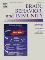 BRAIN, BEHAVIOR, and IMMUNITY